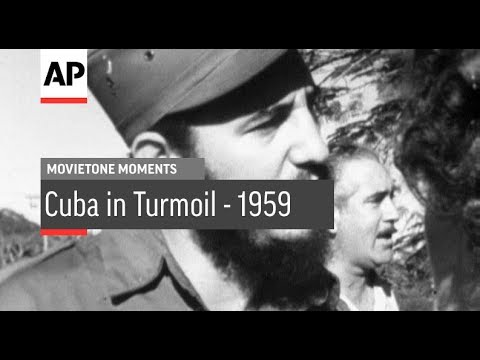 Cuba Turmoil - 1959 | Movietone Moment | 15 Feb 18