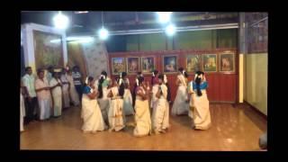 Onam 2014 Dance Programme : Chethi mandharam + Parvanendu Mukhi