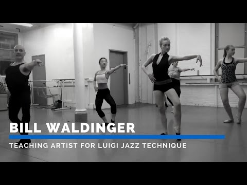 Bill Waldinger – Teaching Artist for Luigi Jazz Technique