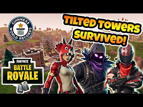 TILTED TOWERS SURVIVED! TIED TOP 10 WORLD RECORD HOLDER! NEW SKIN HYPENESS?!