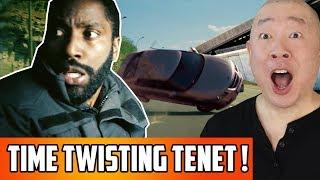 Tenet Trailer Reaction | A Christoper Nolan Time Twisting Movie!