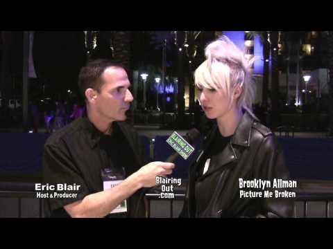 Picture Me Broken's Brooklyn Allman talks w Eric Blair @ Namm 2014