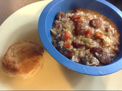 Rice & Sausage Soup