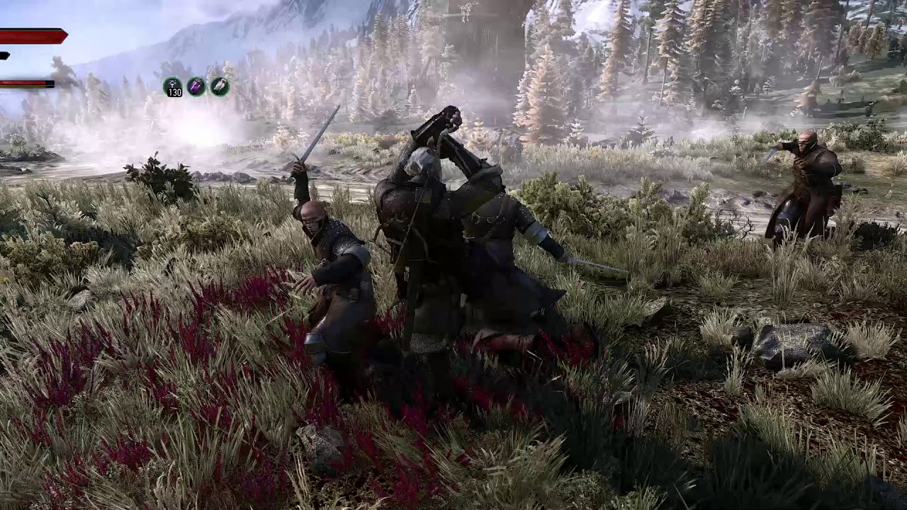 Witcher 3 - Enhanced Edition: Manual Targeting gameplay