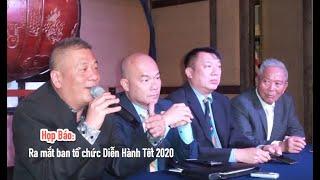 Ban Tổ Chức diễn hành Tết 2020 họp báo - Ông Trần Nhật Phong từ chối trả lời báo PhốBolsaTV tại sao?