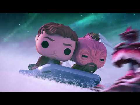 Marvel Funko Presents: Cosmic Sleigh Ride