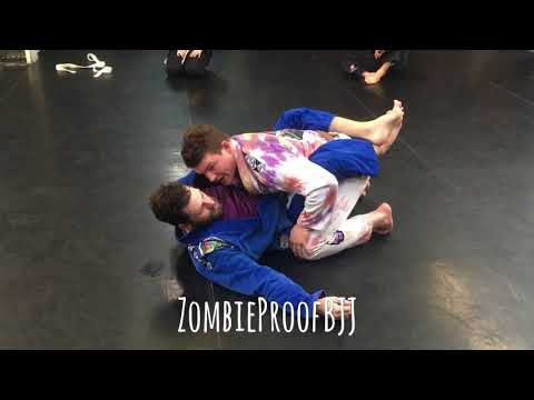 How To Pass Closed Guard From The Knees - ZombieProofBJJ (Gi)