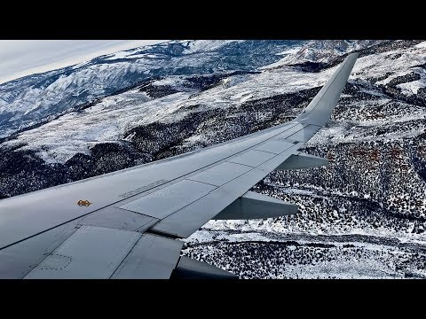 American Airlines – Airbus A319-115 – EGE-LAX – Full Flight – N70020 – IFS Ep. 196