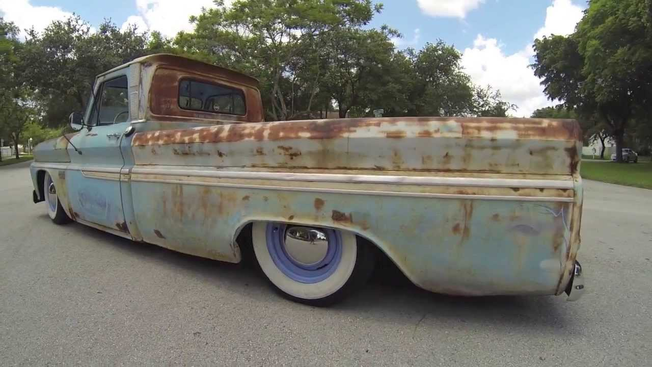 All Chevy 1965 chevy c30 : 65 Chevy C10 Rat Rod Surfer Truck For Sale - Mobile Device Video ...