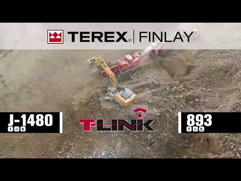 Terex Finlay J-1480 Jaw Crusher | OPS Screening & Crushing