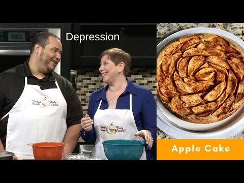 Gluten Free Apple Cake - Depression