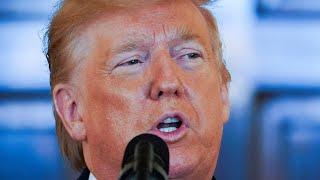 Donald Trump speaks about Iran.