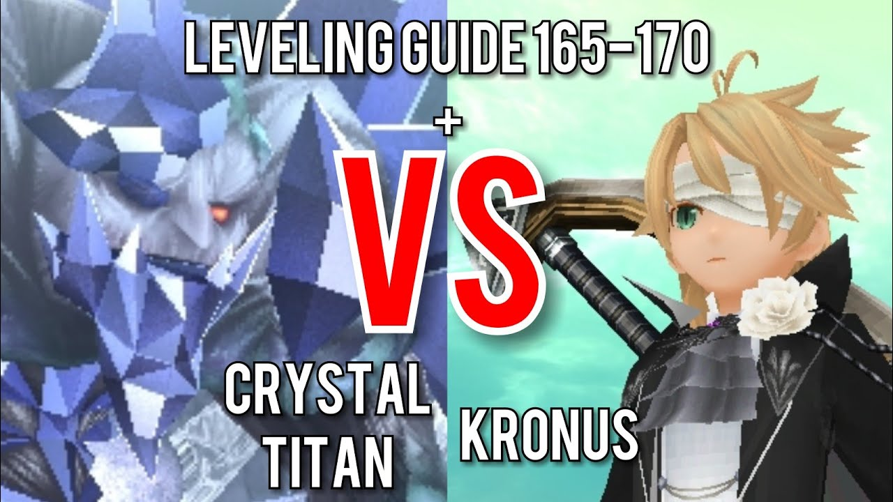 Toram Online: LEVELING 165-170 FASTEST GUIDE | BOSS CRYSTAL TITAN GUIDE and  INFO by Kronus