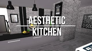 ROBLOX | Welcome to Bloxburg: Aesthetic Kitchen 35k