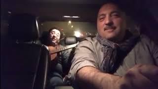 🤔Не знаю кто там пел на заднем сидении авто, но за рулём у него сам парень из КВН🤗