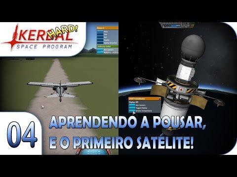 KSP 1.2 - Aprendendo a pousar, e o primeiro satélite! - E04 - Pesterenan