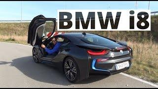 BMW i8 362 KM, 2014 PL ENG test AutoCentrum.pl 128