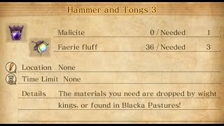 011 Hammer and Tongs 3  [ DRAGON QUEST HEROES II ]