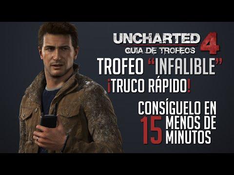 Truco/Guía | Uncharted 4 - Trofeo: Infalible (¡Glitch para conseguirlo muy rápido!)