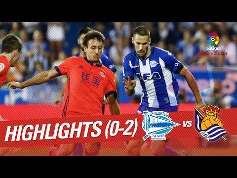 Resumen de Deportivo Alavés vs Real Sociedad (0-2)