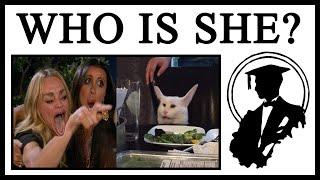 Origins Of Woman Yelling At Table Cat Meme | Lessons in Meme Culture