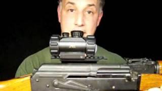 Video UTG AK-47  Mount & M30 Leatherwood / Hi-Lux Red Dot Sight download MP3, 3GP, MP4, WEBM, AVI, FLV Mei 2018