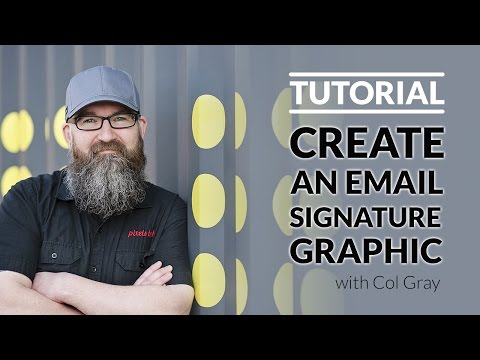 How To Create An Email Signature Graphic Using Pic Monkey