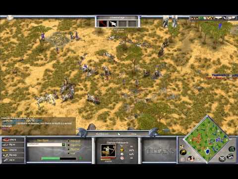 Magyar (Set) vs Mista (Zeus) - Age of Mythology The Titans Game 1