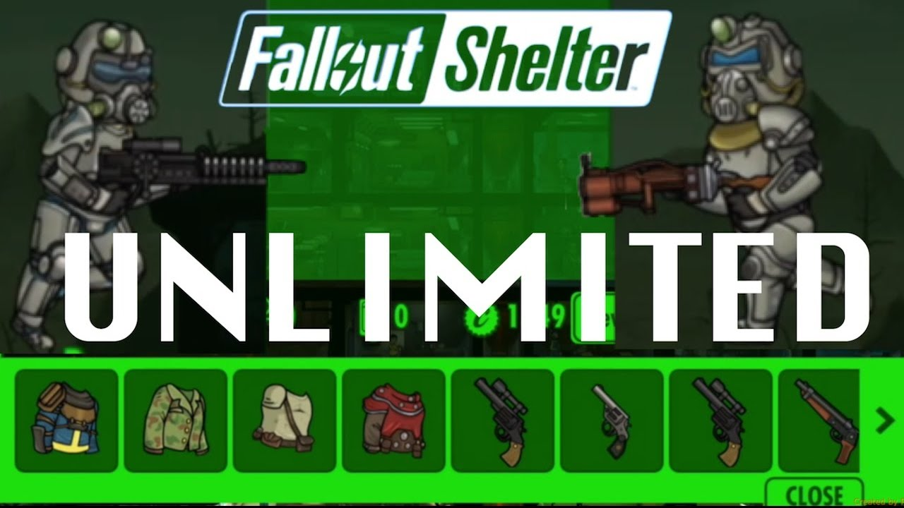 TRICHER SUR <b>FALLOUT SHELTER</b> (Steam version) - YouTube