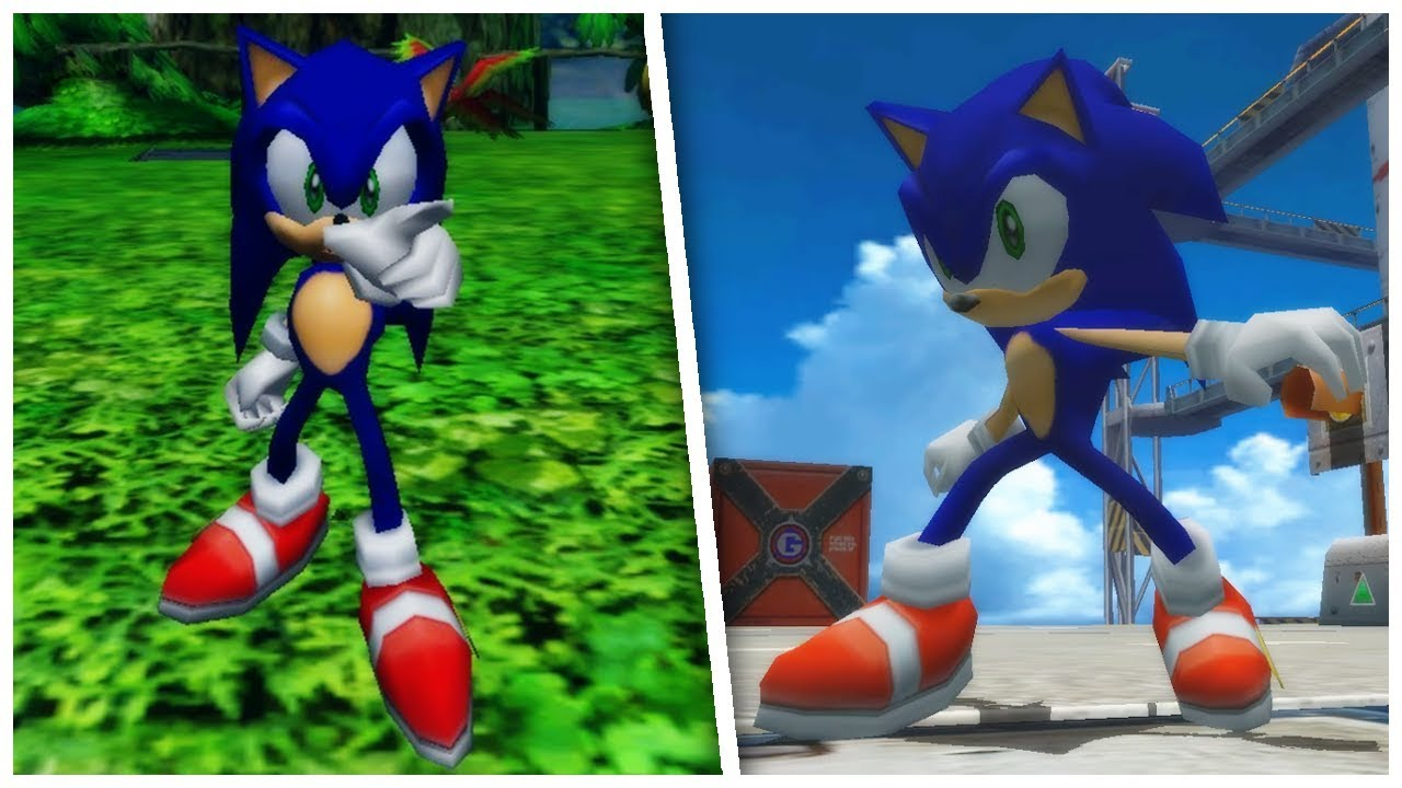Sonic Adventure 2 Original Shoes Sonic Mod Youtube