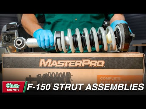 How To: Replace Front Strut Assemblies on a 2004-2014 Ford F150