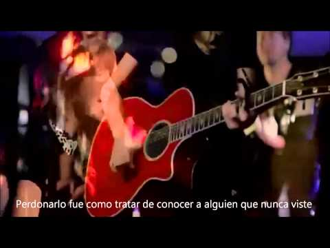 Taylor Swift - Red LIVE subtitulado en español