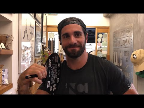 Seth Rollins enjoys a taste of Osaka, Japan