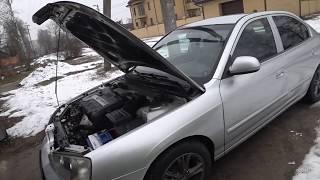 Hyundai Elantra 2003 год.  Умели раньше делать!