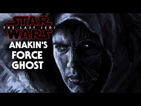 Star Wars The Last Jedi - Anakin Skywalker Force Ghost!