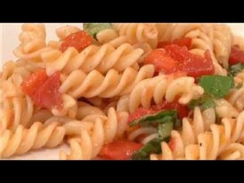 From Garden to Table : Recipe for Cold Tomato Pasta Salad