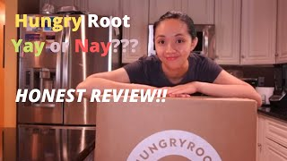 HungryRoot HONEST review!!