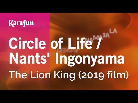 Circle Of Life / Nants' Ingonyama - The Lion King (2019 Film) | Karaoke Version | KaraFun
