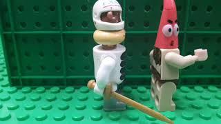 Лего Губка Боб мультик ,, тайна  Патрика ,,