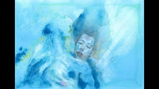 忘形水 The Shape of Water (speed up painting)
