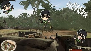 Jugando The Hell In Vietnam (Parte 1( Misiones 1 y 2))