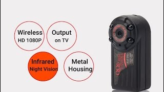 review camera mini qq6 full hd 1080p