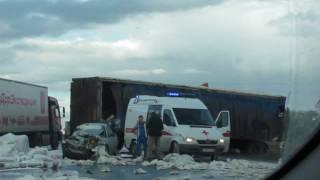 ДТП в Башкирии на трассе М5 Самара-Уфа-Челябинск