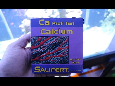 Salifert Testing Calcium In The Lab