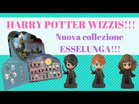 Harry Potter WIZZIS!!! - Nuova collezione ESSELUNGA