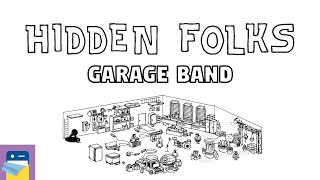 Hidden Folks: On Tour - Garage Band Walkthrough Guide & Gameplay (by Adriaan de Jongh)