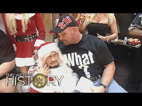 Mr. McMahon & Ric Flair host Raw Christmas parties: This Week in WWE History, Dec. 24, 2015 thumbnail