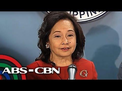TV Patrol: Arroyo, sinang-ayunan ang mga desisyon ni Duterte