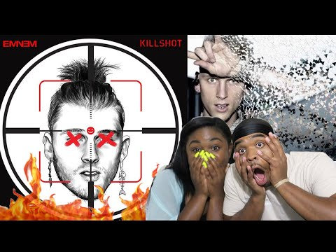 R.I.P MGK 😱🔥| Eminem - #KILLSHOT (MGK Diss) | REACTION!!!!