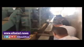 محافظ المنيا يتفقد مصنع العسل الأسود ويشكل لجنة لإعادة تشغيله